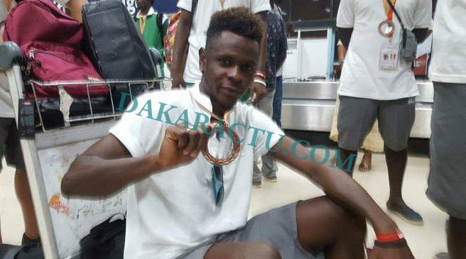 De retour de la Coupe du Monde : Les joueurs sénégalais du mini-foot accueillis à l'aéroport