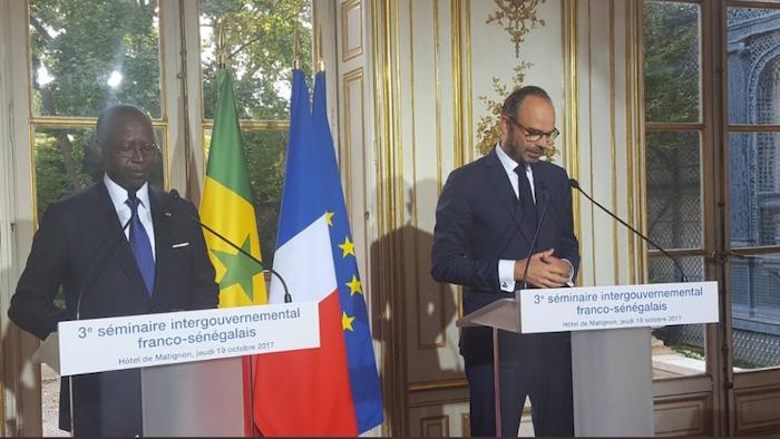 SÉMINAIRE INTERGOUVERNEMENTAL FRANCO-SÉNÉGALAIS : Déclaration conjointe des Premiers ministres Français et Sénégalais