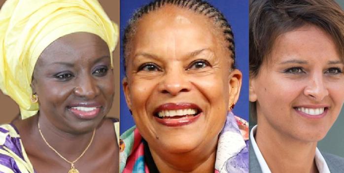 Mimi Touré, Angela Davis Christiane Taubira, Najat Belkacem dessinent les contours d'un meilleur monde pour les femmes à l'Université Wellesley de Hillary Clinton