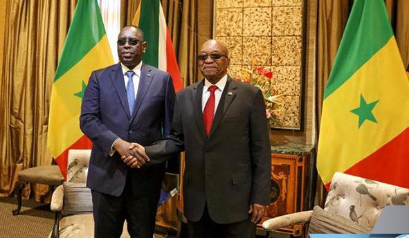 L'Afrique du Sud et le Sénégal signent des accords de coopération