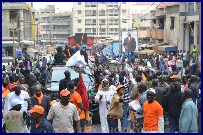 Marche orange pour la reconquête du Pouvoir: Idy envahit Macky, Dionne et Niasse pour décliner sa vision du Sénégal