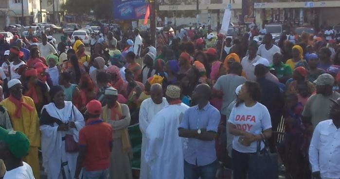 Rassemblement de soutien à Khalifa Sall : Les khalifistes investissent le boulevard du Général De Gaulle