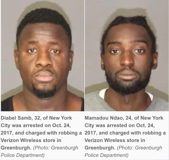 Vol à main armée : Deux sénégalais arrêtés à New York, jugés demain