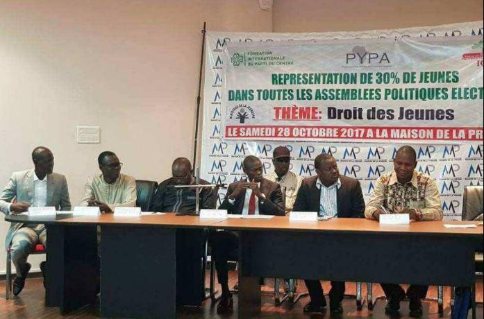 Instances de décision : Les jeunes de divers partis réclament 30% des postes électifs
