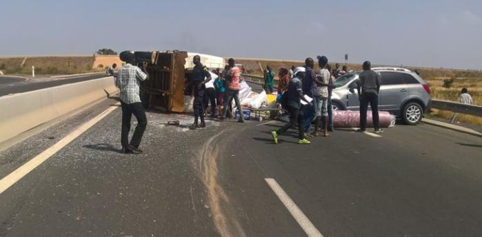 Autoroute à péage : Un accident fait des dégâts matériels