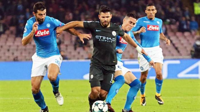 Ligue des champions : Manchester City régale à Naples, Porto complique la tâche de Monaco, Dortmund à la peine