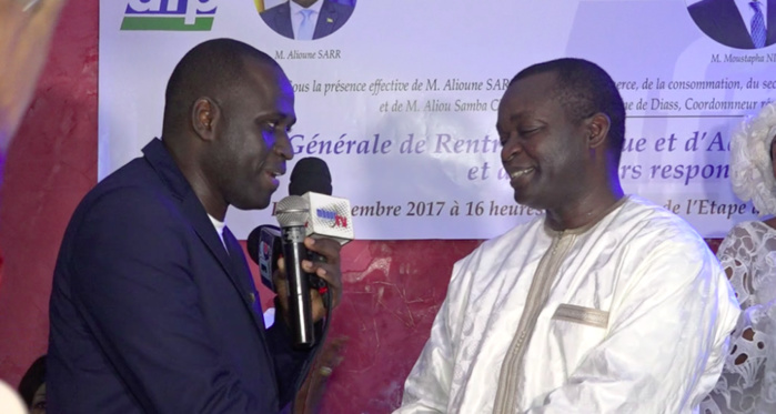 Mbour : El Hadji Omar Ndiaye rejoint l'Afp, Alioune Sarr lui déroule le tapis rouge