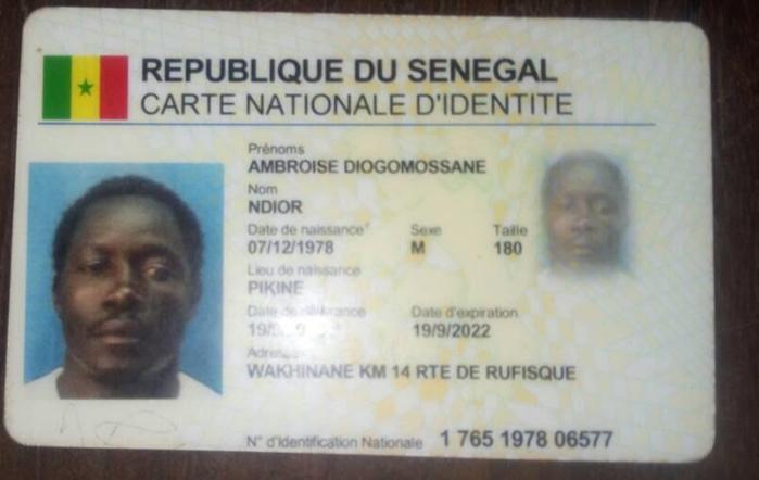 Avis de recherche : Antoine Diogomossane Ndior, décédé à Bissau / Qui peut aider à faire connaitre sa famille au Sénégal ?