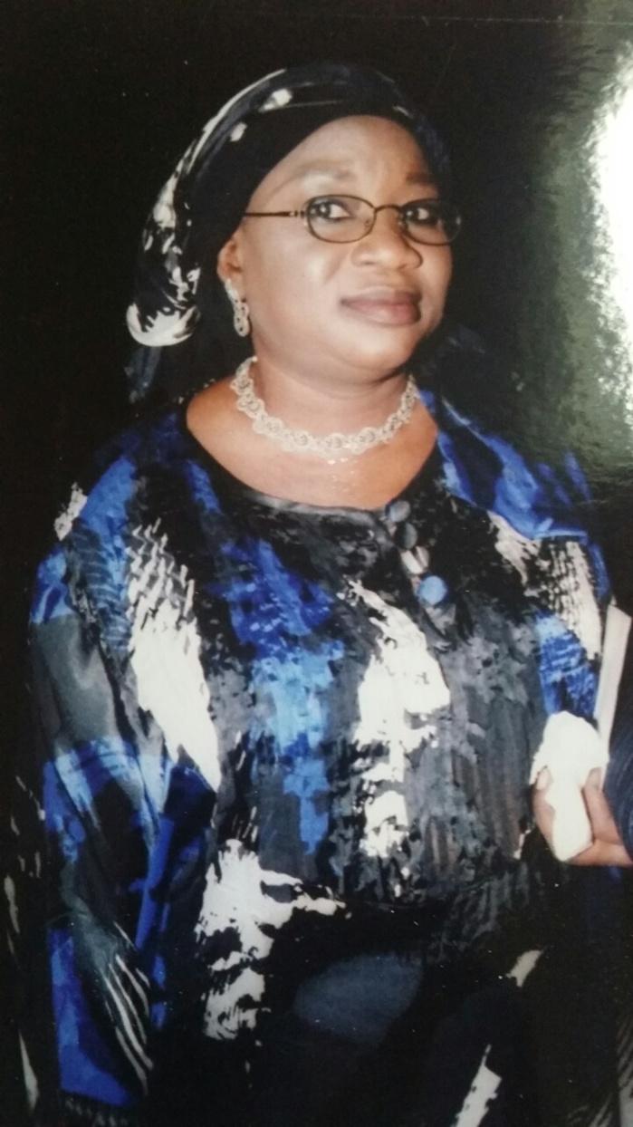 SOUVENIR : Adja Yvonne Bineta Guèye (08 Novembre 2012 - 08 novembre 2017)