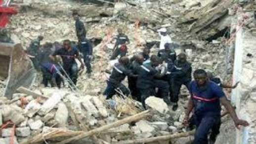 Touba : L'affaissement du palier extérieur d'un bâtiment fait 1 mort et 15 blessés