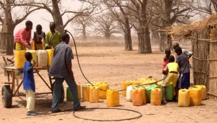 Alerte : Malem hodar sans une goutte d'eau depuis hier