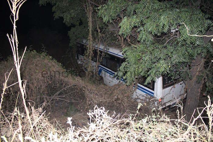 MAGAL DE TOUBA : Accident entre un Ndiaga Ndiaye et un bus Tata