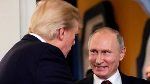 """Selon Poutine, Trump est un """"homme bien élevé et d'un contact agréable"""""""