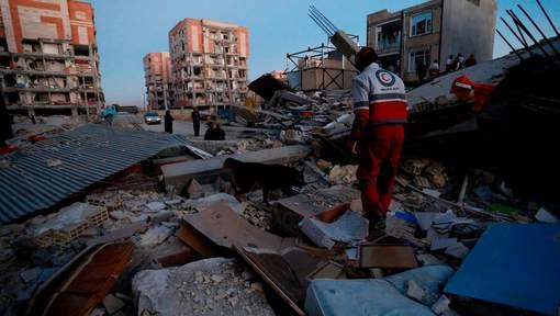 Plus de 300 morts et 2.500 blessés dans un tremblement de terre en Iran et en Irak