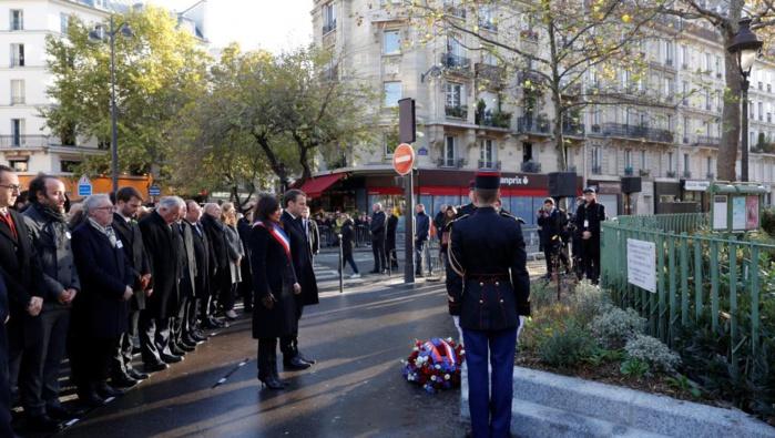 ATTENTATS DE PARIS : La France rend hommage aux victimes des attentats du 13 novembre
