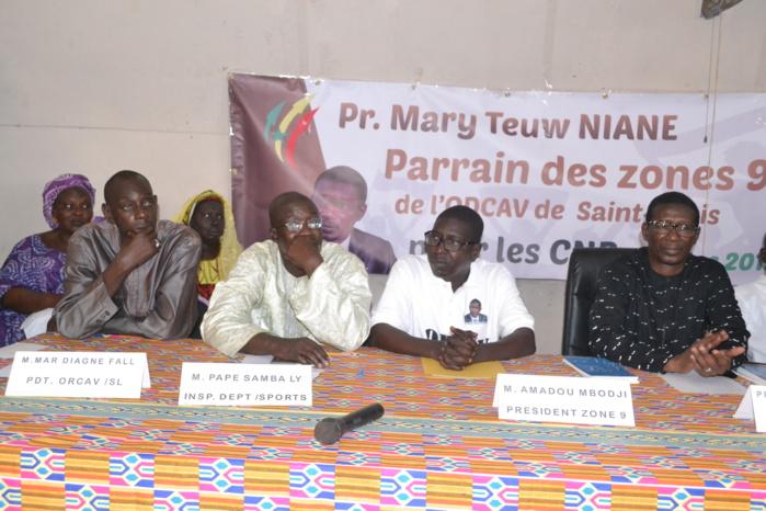 Le Pr Mary Teuw Niane signe une convention avec les zones 4 et 9 de l'Odcav