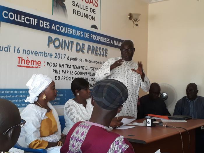 Affaire Namora : Un collectif d'acquéreurs de propriétés interpelle le Président Macky Sall