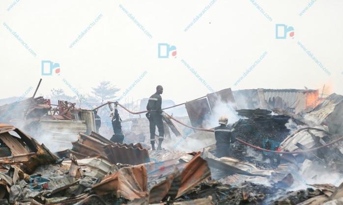 """Incendie """"Pac Lambaye"""" : Le Commissariat de Pikine hérite de l'enquête"""