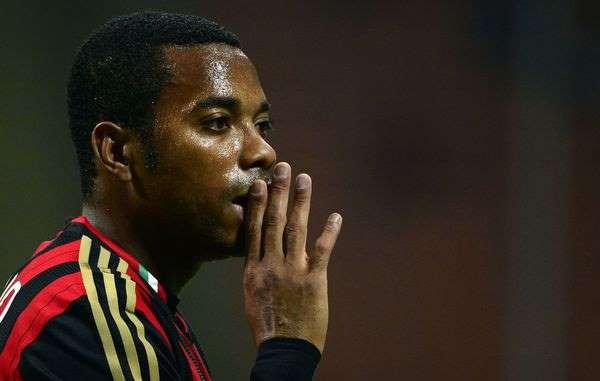Robinho condamné à neuf ans de prison pour viol