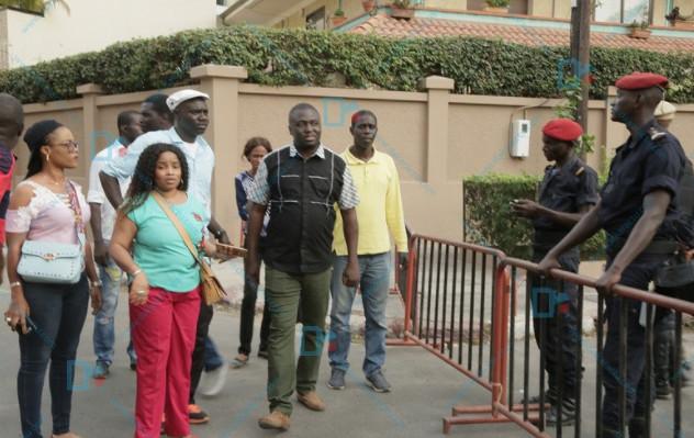 Levée de l'immunité parlementaire de Khalifa Sall : La police repousse les partisans du maire de Dakar-Au moins, quatre manifestants arrêtés