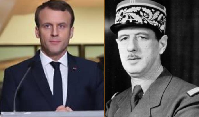 « 60 ans » après le discours du 26 août 1958 : quand Macron enfile la tenue du Général de Gaulle