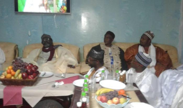 NUIT DE GAMOU À MÉDINA BAYE - Réception des délégations étrangères par l'Imam Cheikh Tidiane Aliou Cissé