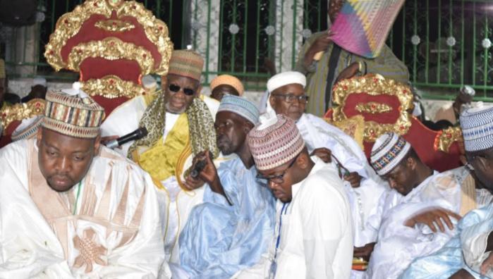 Gamou Médina Baye : La tolérance et la culture des bonnes valeurs, point saillant du discours du khalife Général Cheikh Ahmed Tidiane Ibrahima Niass