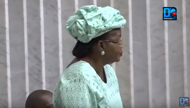 Cartes d'identité biométriques et incendie au parc Lambaye : Aïda Mbodj demande des comptes à Aly Ngouille Ndiaye
