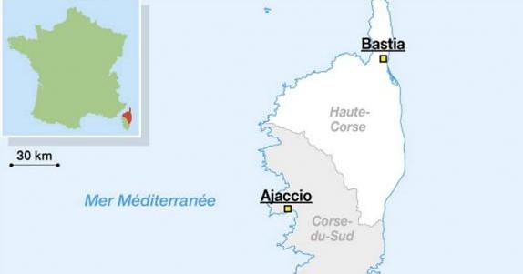 France: une fusillade près de l'aéroport de Bastia fait un mort et un blessé grave