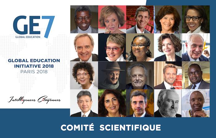 Lancement officiel de la Conférence mondiale pour l'Éducation (Global Education Initiative 2018) 2018 à Paris