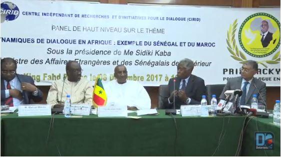 Me Sidiki Kaba à l'école de Abdou Diouf : « Il faut dialoguer de tout avec un grand T »