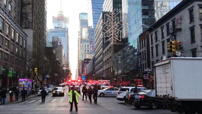 ETATS-UNIS : Explosion à New York, «une tentative d'attentat terroriste»