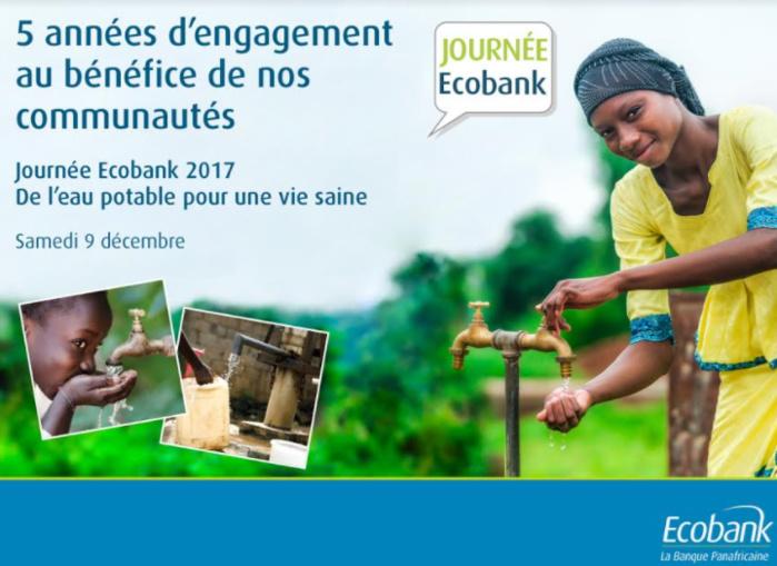 5ème Ecobank Day : De l'eau potable pour une vie saine.