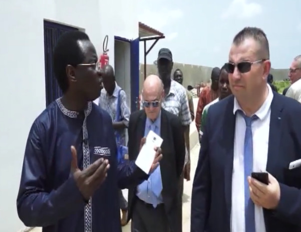 Inauguration de l'Usine de Congelation de Poisson dans la Commune de Sandiara par le Ministre la Pêche et de l'Economie maritime