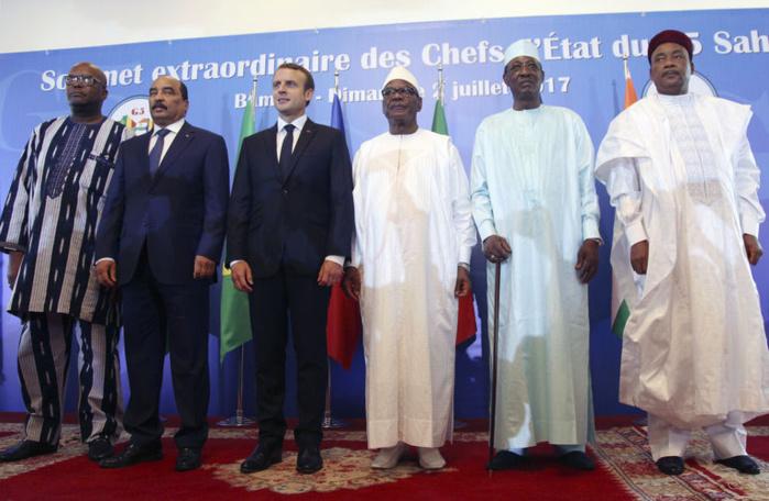 G5 Sahel / Macron promet l'enfer aux terroristes : « Nous devons intensifier l'effort »