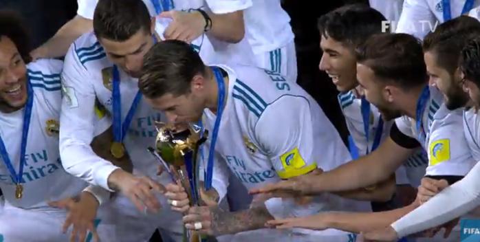 Ronaldo offre le Mondial des clubs au Real Madrid