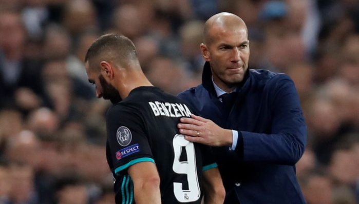 "ZIDANE : ""Benzema ? Je le défendrai jusqu'à la mort"""