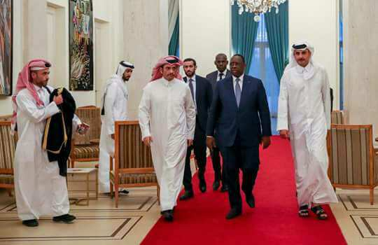 Visite de l'Emir du Qatar Tamim Ben Hamad Al Thani à Dakar (images)