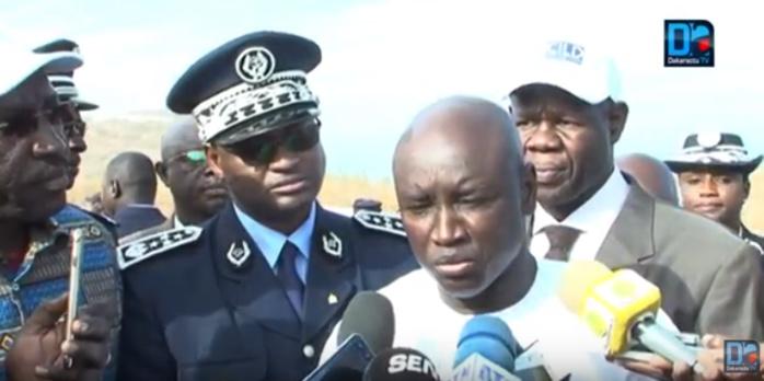 Visite de courtoisie : Aly Ngouille Ndiaye chez l'Evêque de Dakar pour lui renouveler toute sa disponibilité