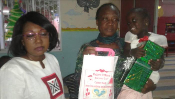 Kaolack : Mariama Sarr offre des cadeaux aux pensionnaires du village d'enfants SOS