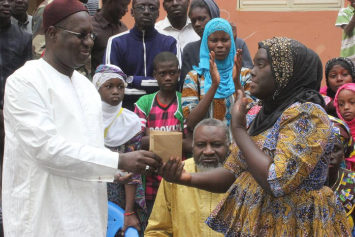 Les élèves sourds-muets de Pikine « entendent » effectivement le cri de solidarité de Abdou Karim Sall