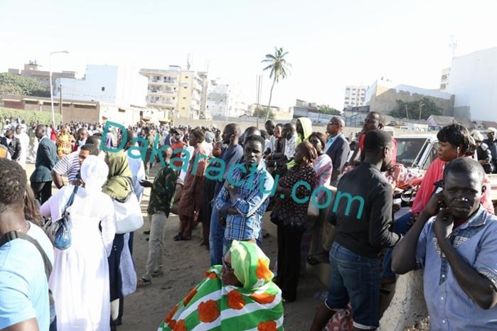 Au Tribunal de Dakar, forte mobilisation des souteneurs de l'Imam Alioune Badara Ndao