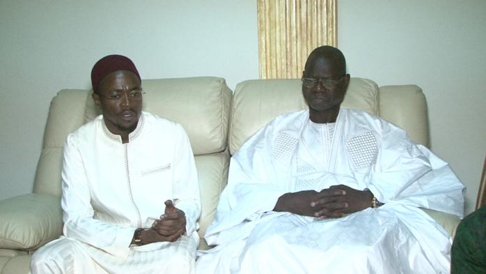 Deuil : Abdou Mbow et Augustin Tine présentent les condoléances du président à Abdoulaye Diop, ancien ministre des finances