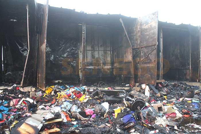 Kaolack : Un incendie s'est déclaré près du siège de l'Afp à Léona