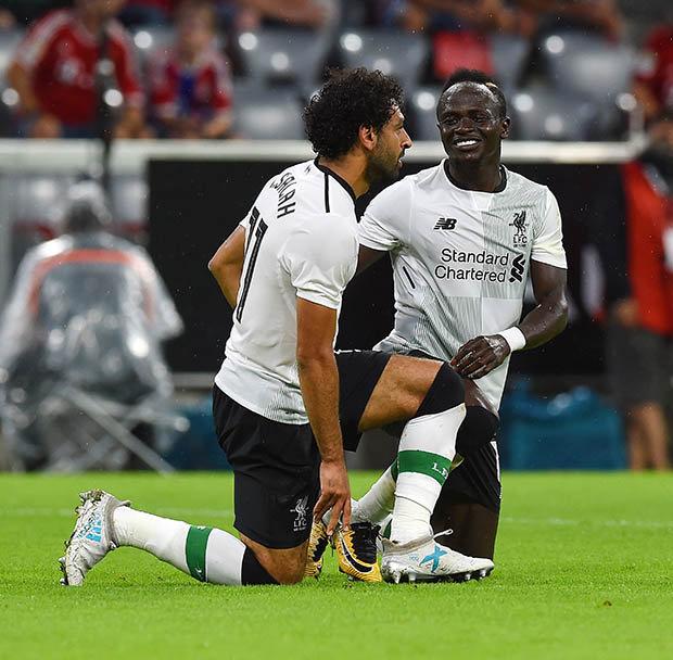 """Mohamed Salah : """"Je suis sûr que Sadio Mané gagnera le Ballon d'Or"""""""