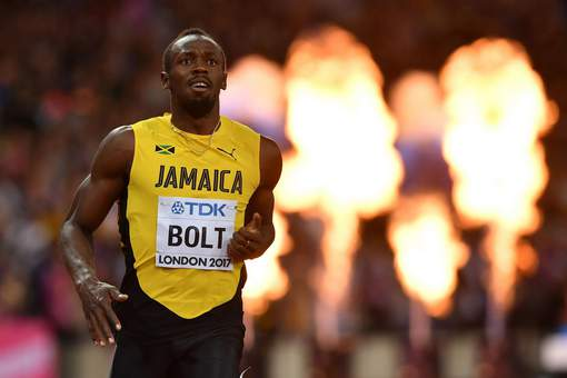 Usain Bolt en test au Borussia Dortmund