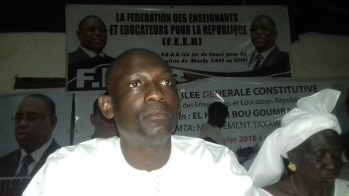 Mamadou Diène, coordinateur national de la Fédération des enseignants et éducateurs pour la République : « L'opposition veut prendre l'école en otage à travers les syndicats d'enseignants »