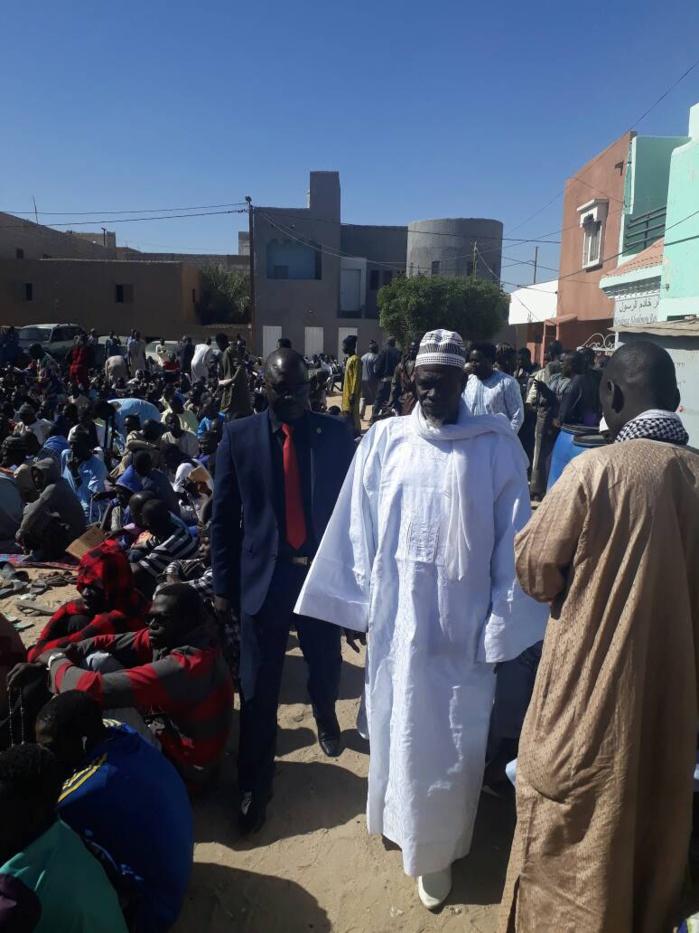 Rappel à Dieu du Khalife général des mourides : La diaspora Afrique du nord a présenté ses condoléances à Keur Serigne Touba de Nouakchott