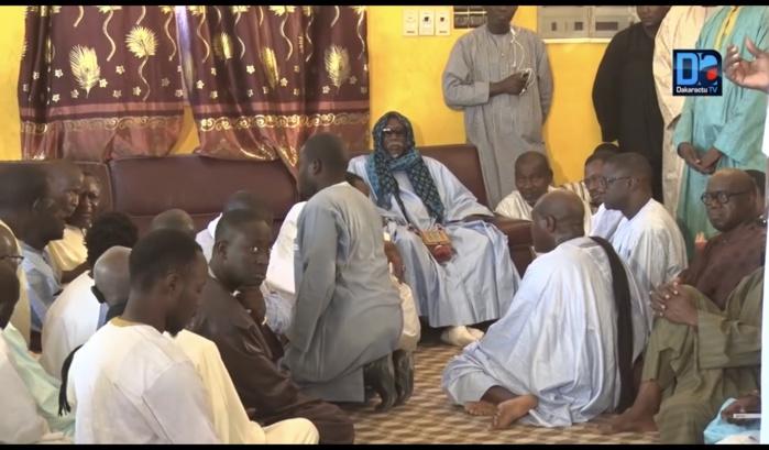 Gouye-mbind : Serigne Moustapha Maty Lèye reçoit les condoléances des anonymes et pontes de la République