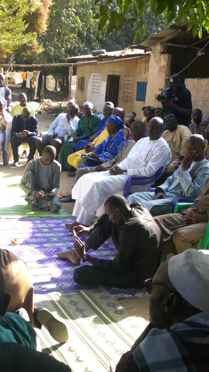 Tuerie de Boffa : Benoit Sambou présente ses condoléances aux familles des victimes